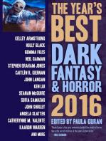 The Year's Best Dark Fantasy & Horror, 2016 Edition