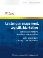 Leistungsmanagement, Logistik, Marketing