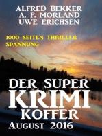 Der Super Krimi Koffer August 2016