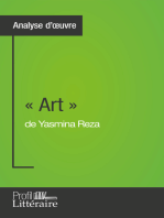 « Art » de Yasmina Reza (Analyse approfondie)