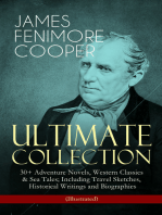 JAMES FENIMORE COOPER – Ultimate Collection