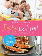 Baby isst mit