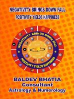 Negativity Brings Downfall -Positivity Yields Happiness