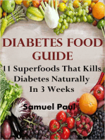 Diabetes Food Guide