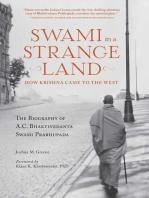 Swami in a Strange Land