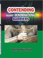 Contending Against Denominational Barriers