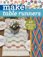 Make Table Runners