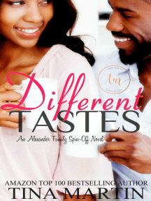 Different Tastes: The Alexander Series, #7
