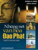 Những nét văn hóa Đạo Phật.