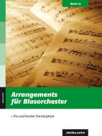 Arrangements für Blasorchester