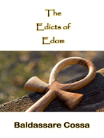 The Edicts Of Edom