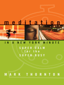 Meditation in a New York Minute: Super Calm for the Super Busy