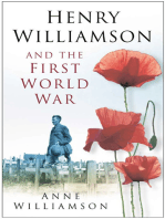 Henry Williamson and the First World War
