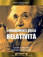 I fondamenti della Relatività