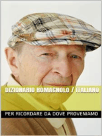 Dizionario Romagnolo Italiano