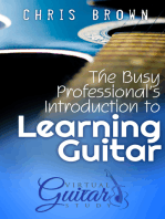 The Busy Professional's Introduction to Learning Guitar