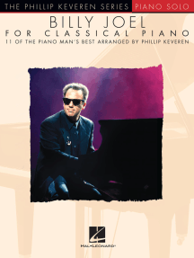 Billy Joel for Classical Piano: arr. Phillip Keveren The Phillip Keveren Series Piano Solo