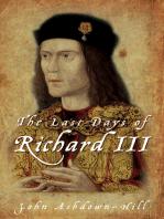 Last Days of Richard III