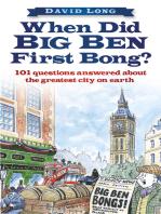 When Did Big Ben First Bong?