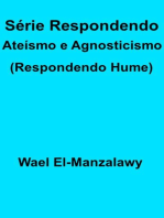 Série Respondendo Ateísmo e Agnosticismo (Respondendo Hume)