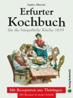 ERFURTER KOCHBUCH für die bürgerliche Küche 1