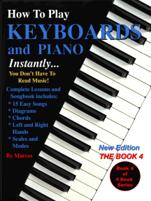 How to Play Keyboards and Piano Instantly: The Book 4