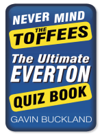 Never Mind the Toffees
