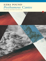 Posthumous Cantos