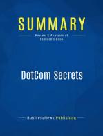 DotCom Secrets (Review and Analysis of Brunson's Book)