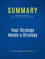 Your Strategy Needs a Strategy (Review and Analysis of Reeves, Haanaes and Sinha's Book)