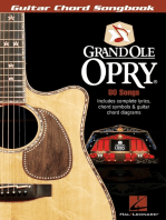 Grand Ole Opry®: Guitar Chord Songbook
