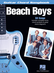 The Beach Boys: Guitar Chord Songbook (6 inch. x 9 inch.)