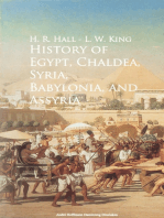 History of Egypt, Chaldea, Syria, Babylonia, and Assyria -