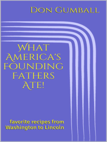 What America's Founding Fathers Ate! Favorite Recipes from Washington to Lincoln