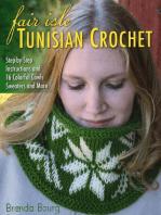 Fair Isle Tunisian Crochet