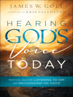 Hearing God's Voice Today