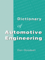 Dictionary of Automotive Engineering