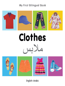 My First Bilingual Book–Clothes (English–Arabic)