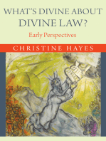What's Divine about Divine Law?