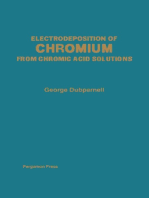 Electrodeposition of Chromium from Chromic Acid Solutions