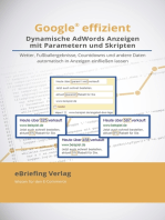 Dynamische AdWords-Anzeigen mit Parametern und Skripten