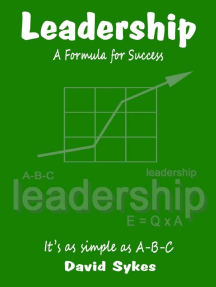 Leadership - A Formula for Success
