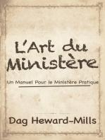 L'art du ministère