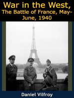 War in the West, The Battle of France, May-June, 1940