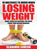 10 Mistakes to Avoid When Losing Weight