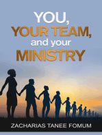 You, Your Team, And Your Ministry