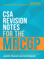 CSA Revision Notes for the MRCGP, third edition