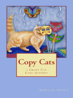 Copy Cats, a Crazy Cat Lady Cozy Mystery #2
