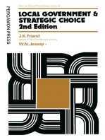 Local Government and Strategic Choice