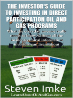 The Investor's Guide to Investing in Direct Participation Oil and Gas Programs